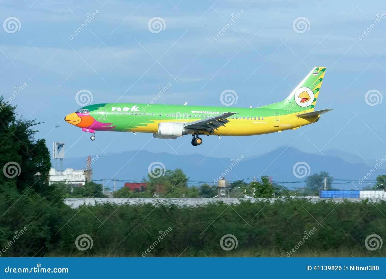 HS-TDE Boeing 737-400 NokAir linia lotnicza