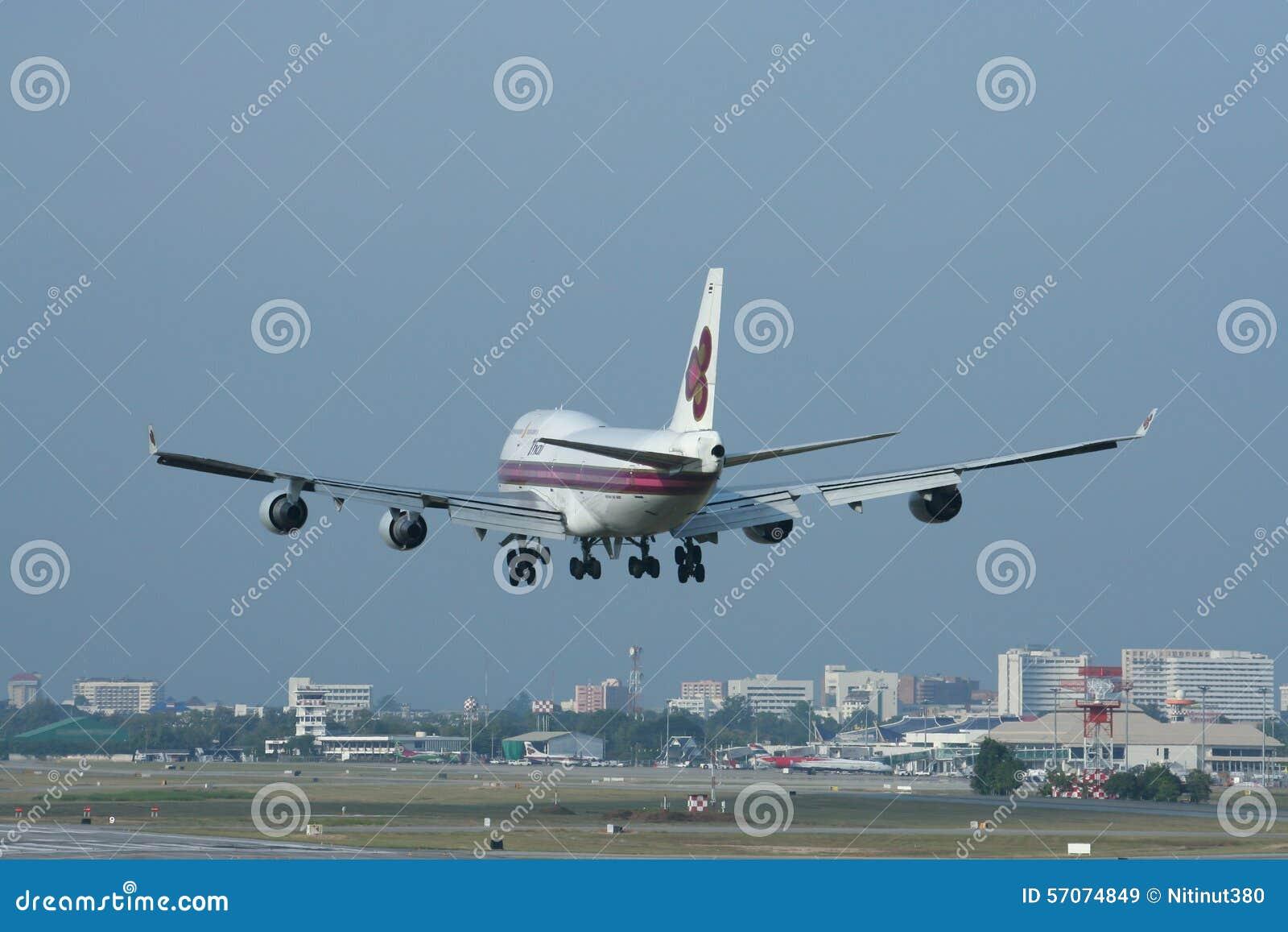 Hs-TGH Boeing 747-400 van Thaiairway