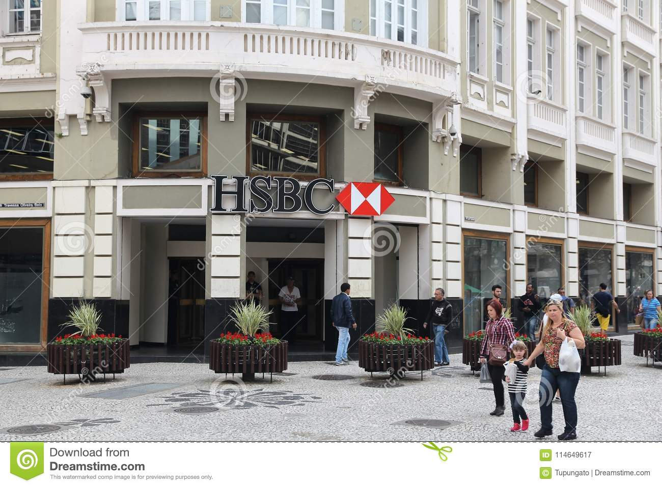 HSBC in Brazil editorial photography  Image of commerce - 114649617
