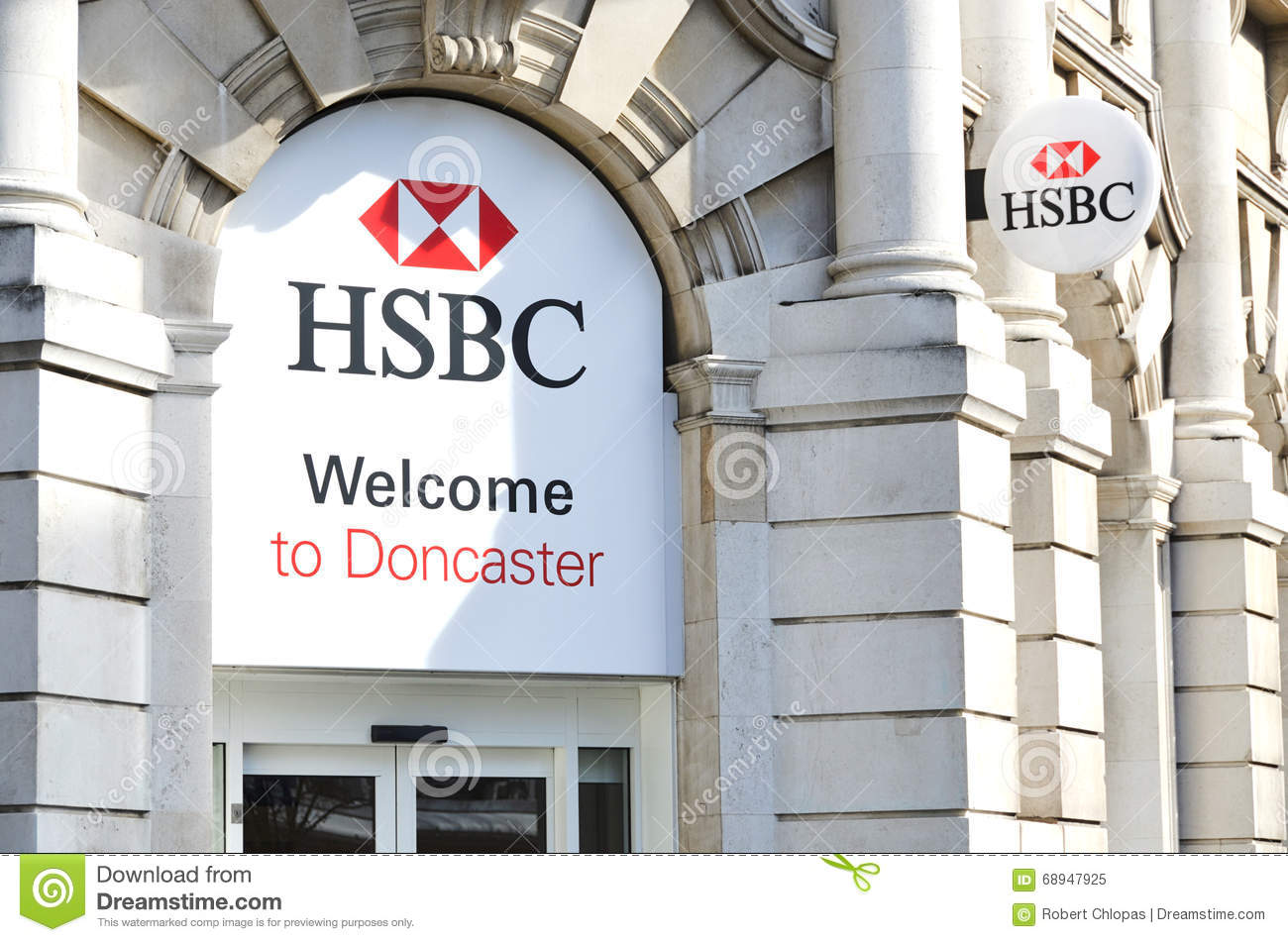 HSBC Holdings sign editorial image  Image of branch, international