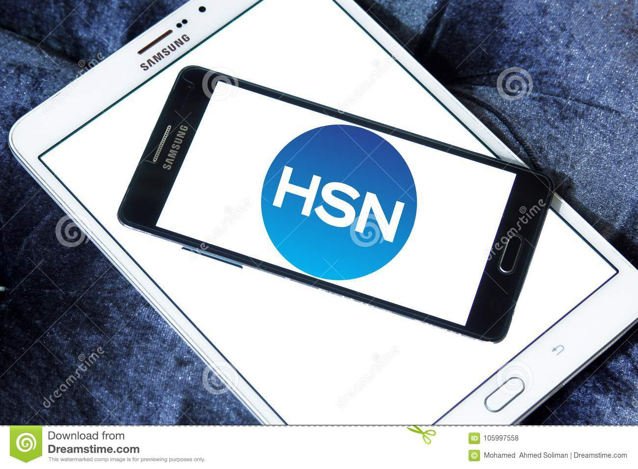 HSN , Home Shopping Network Logo Editorial Stock Photo - Image of ...