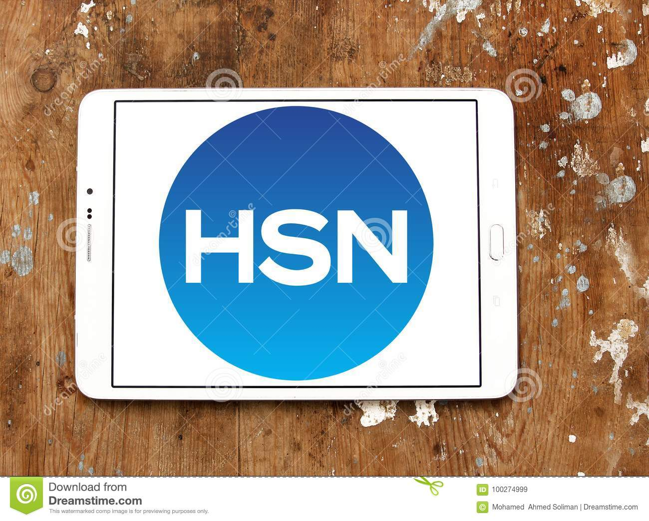 Hsn Home Shopping Network Logo Editorial Stock Image Image Of Motto Brands 100274999