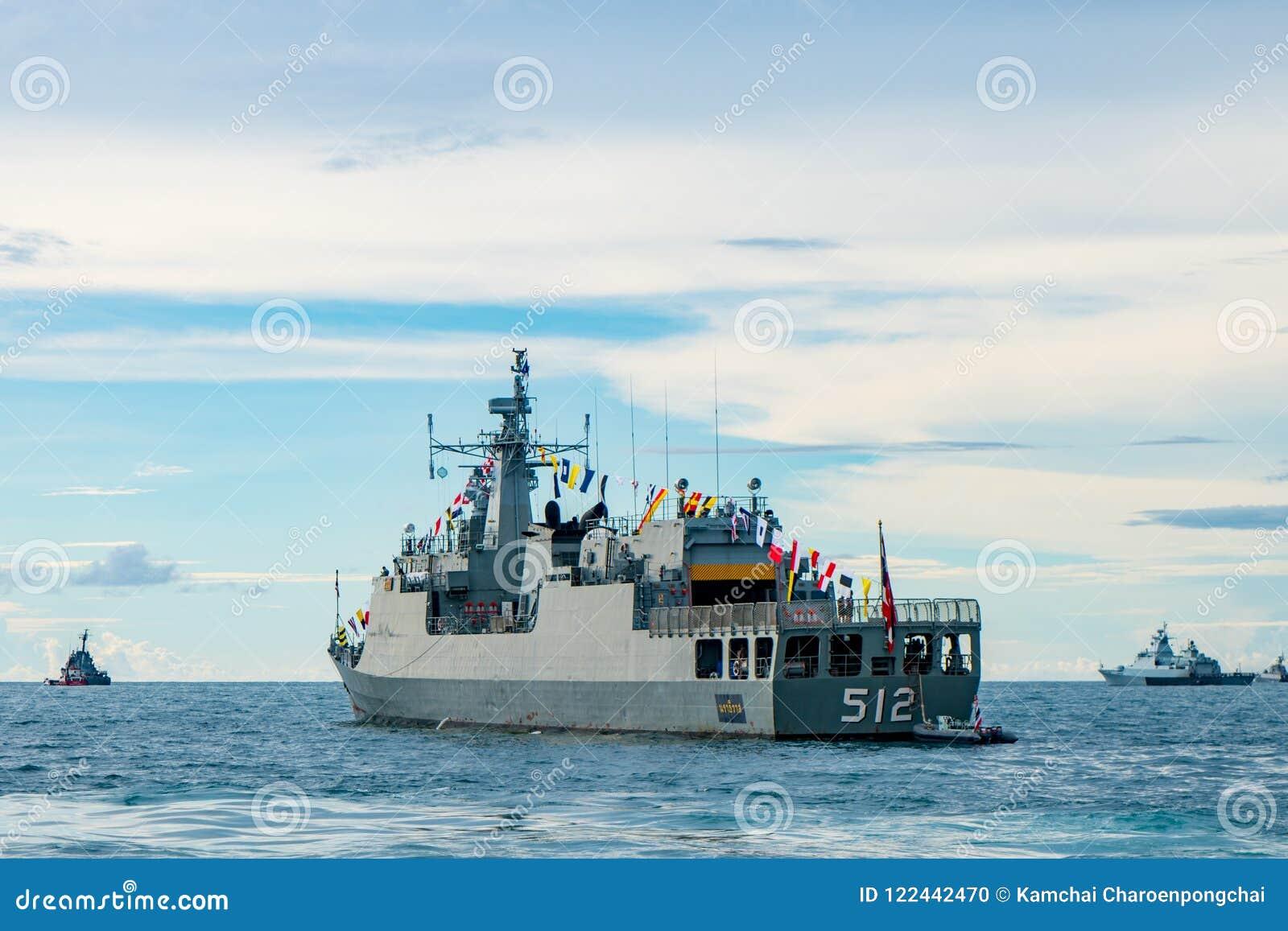HTMS Narathiwat OPV-512, fuori dalla nave di pattuglia di riva della marina tailandese reale