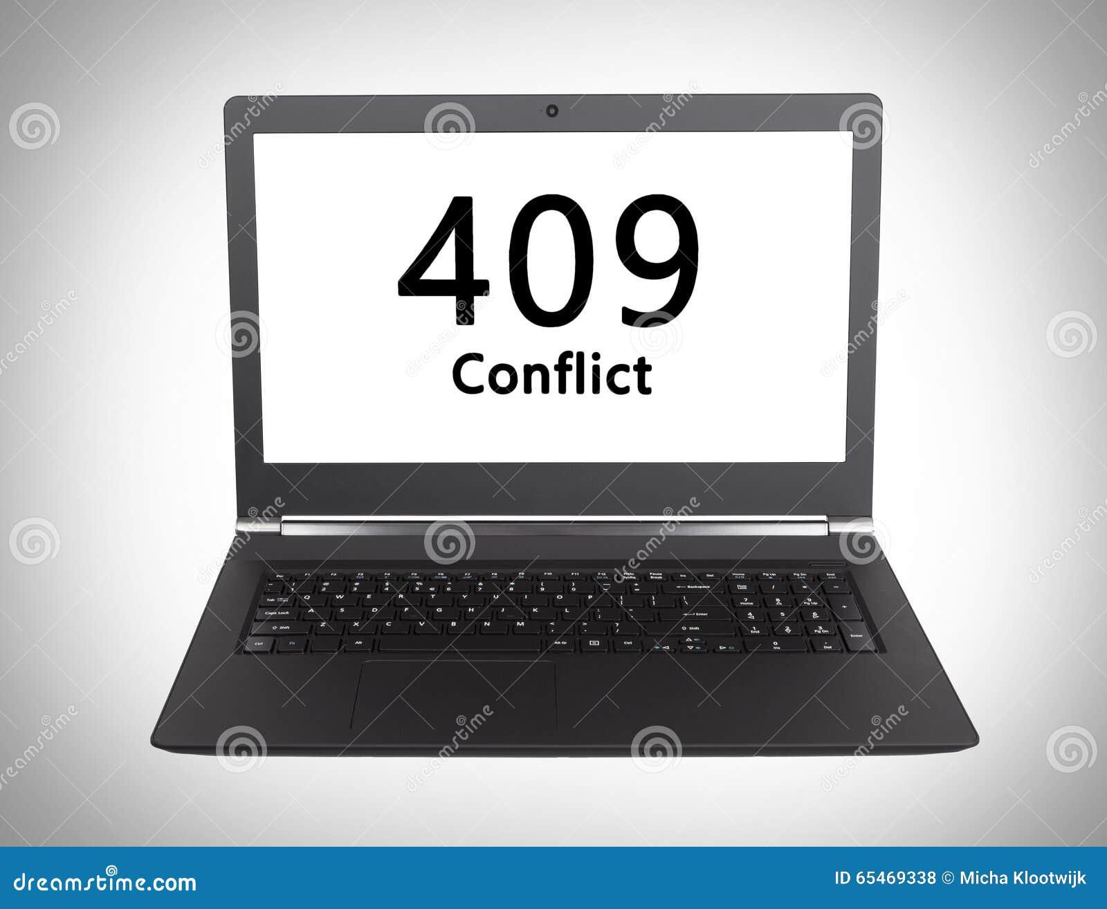 Http Status Code - 409, Conflict Stock Photo 65469338 - Megapixl