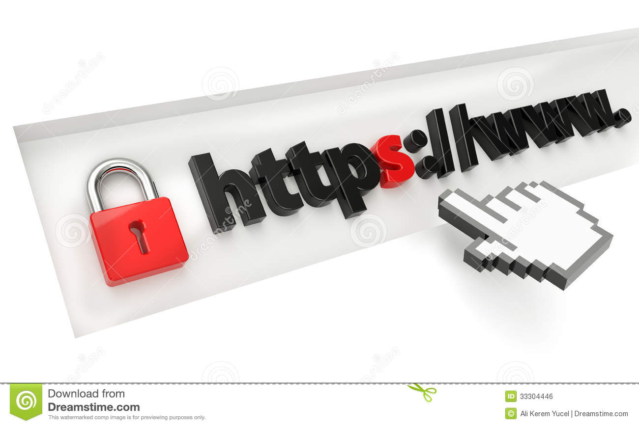 Https Secure Royalty Free Stock Image - Image: 33304446