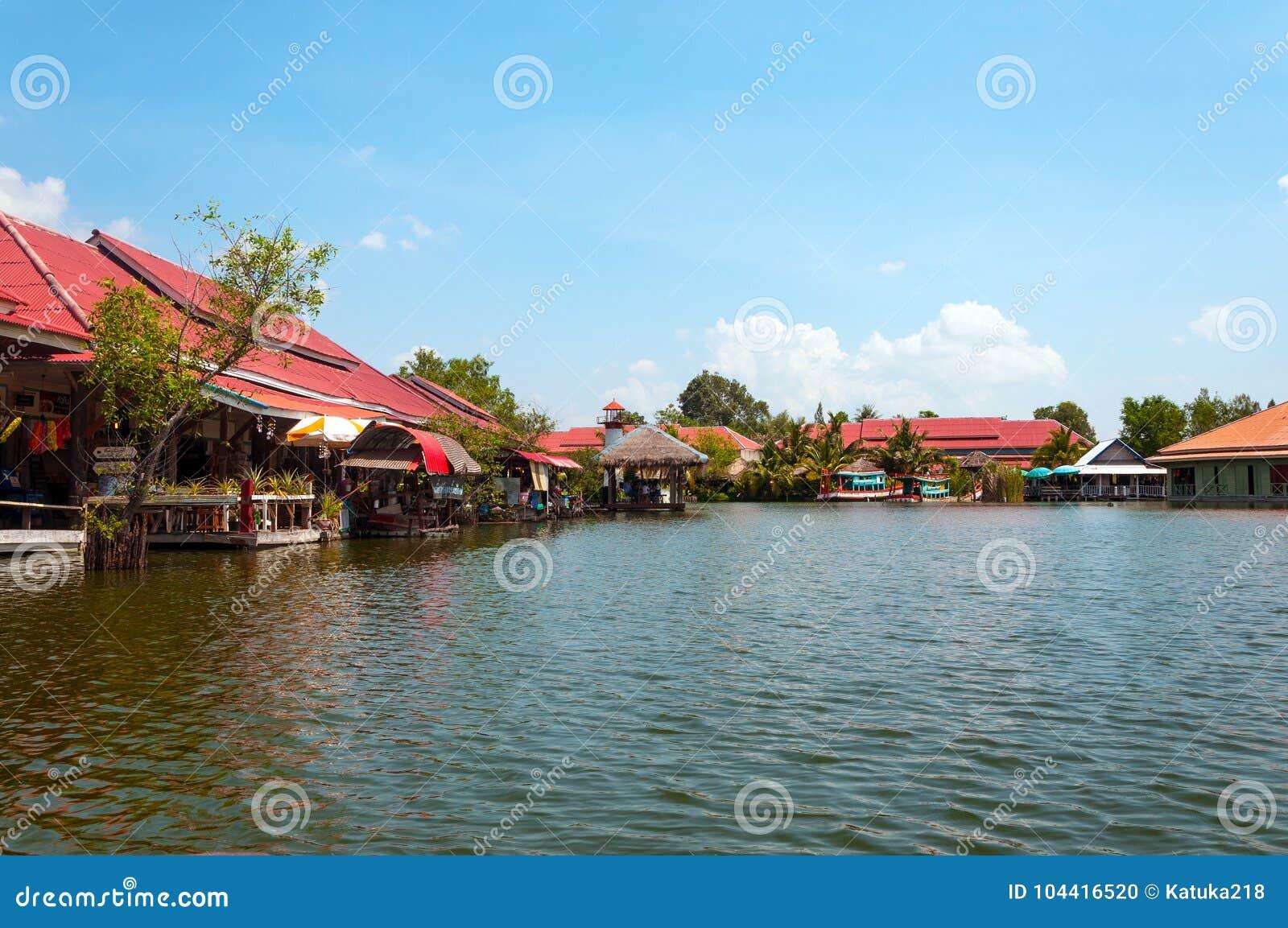 Hua Hin Floating Market in Hua Hin thailand