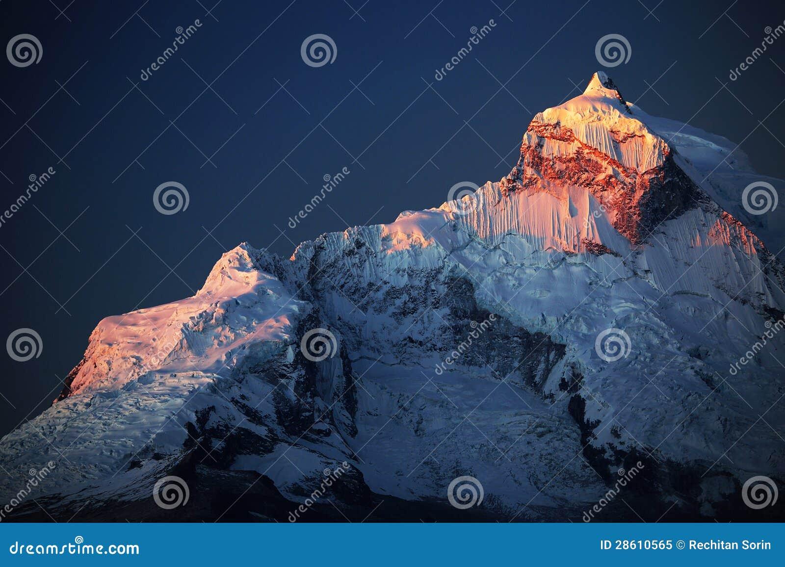 Huandoy szczyty