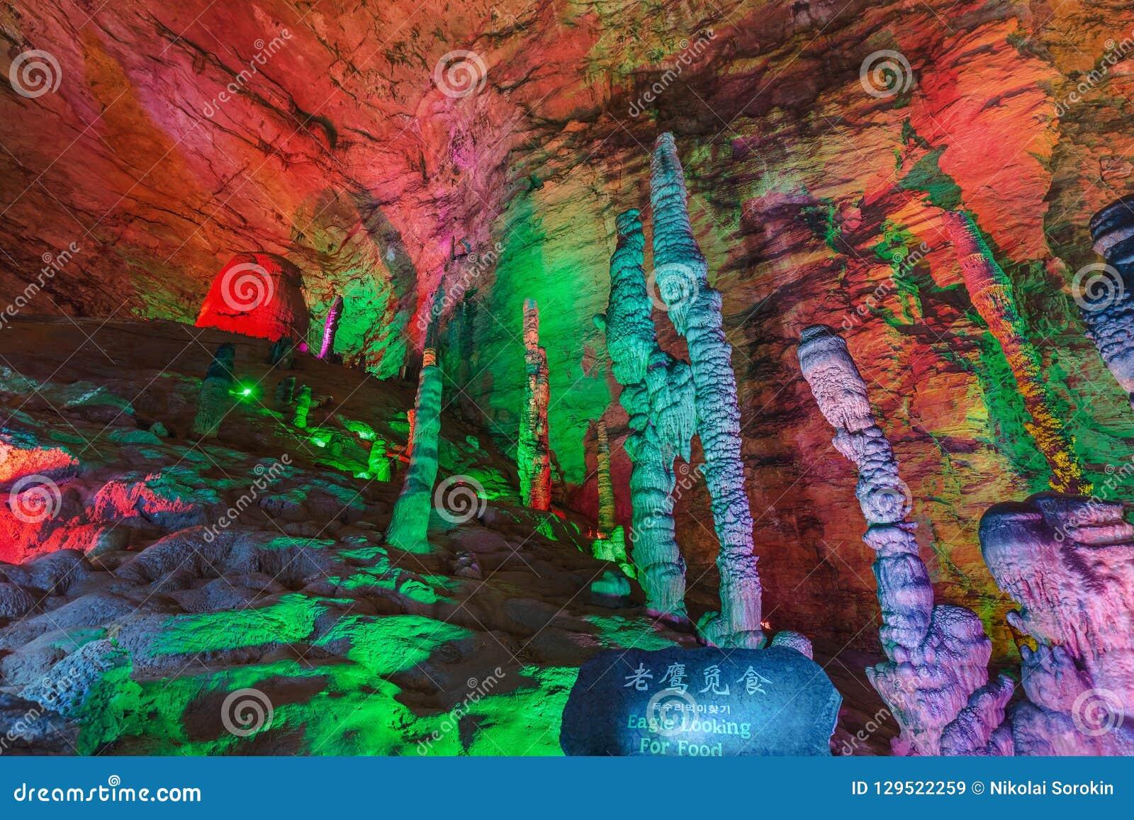 Huanglong gula Dragon Cave - Kina