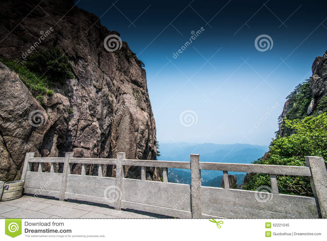 Huangshan Stock Photo - Image: 62221045