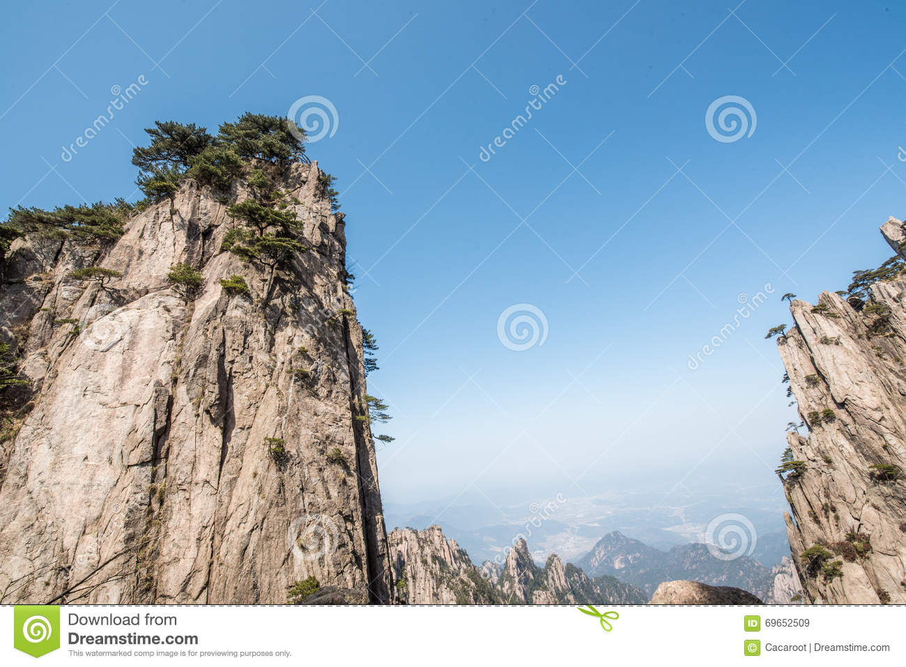 Huangshan Mountain(yellow mountain)