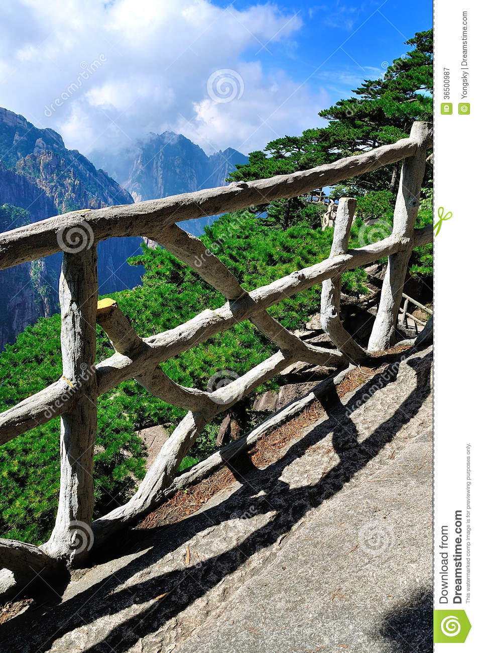 Huangshan, porcelaine incroyable