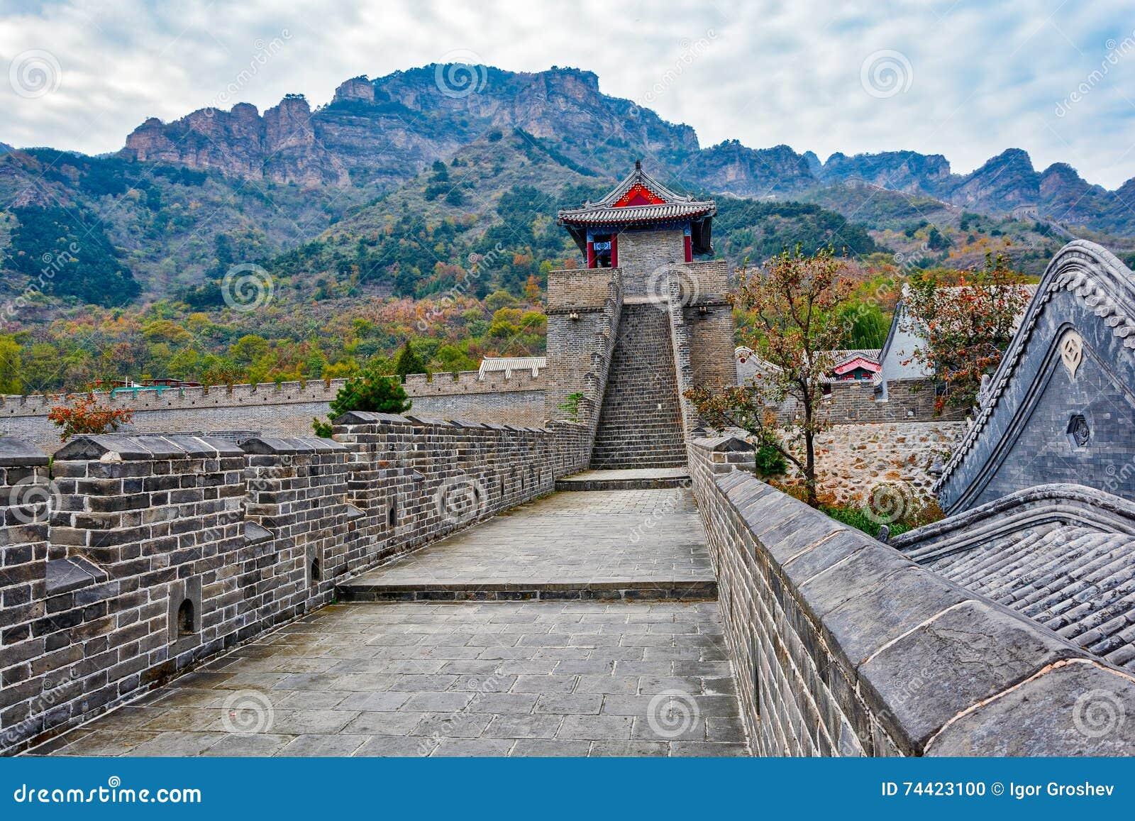 Huangyaguan Grote Muur