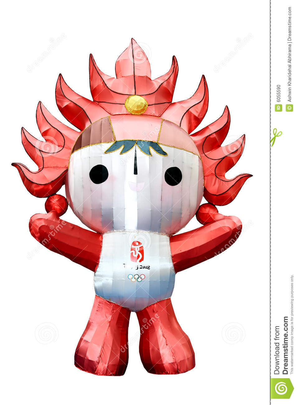 Huanhuan The Beijing Olympic Mascot Editorial Image Image Of
