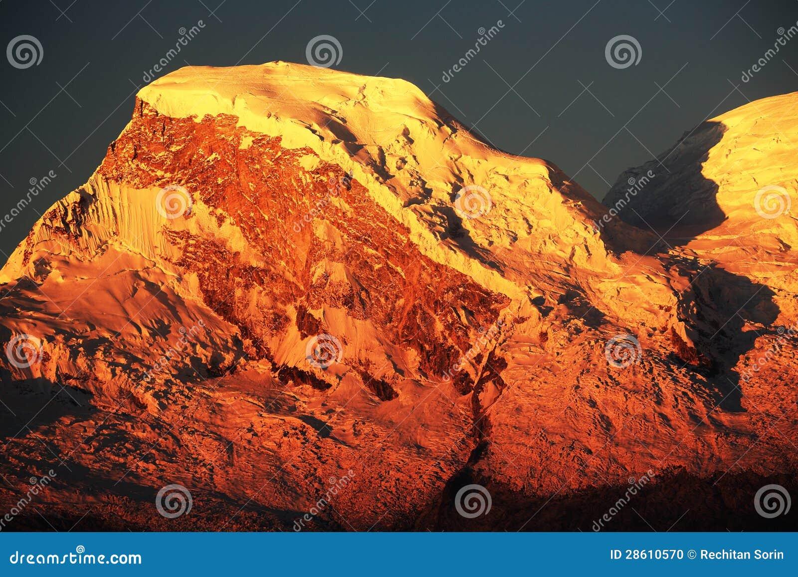 Huascaran szczyty