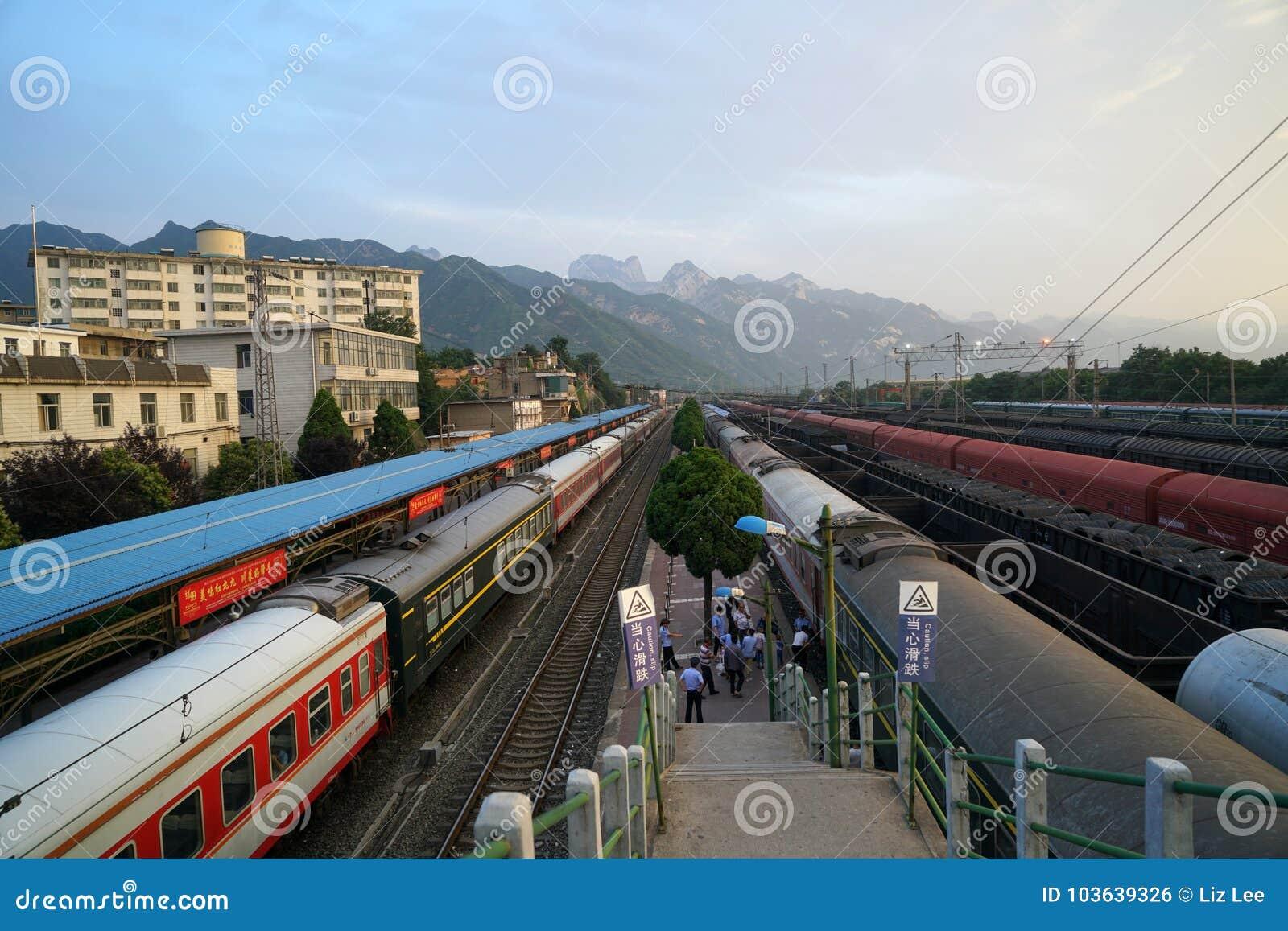 Huashan stacja kolejowa