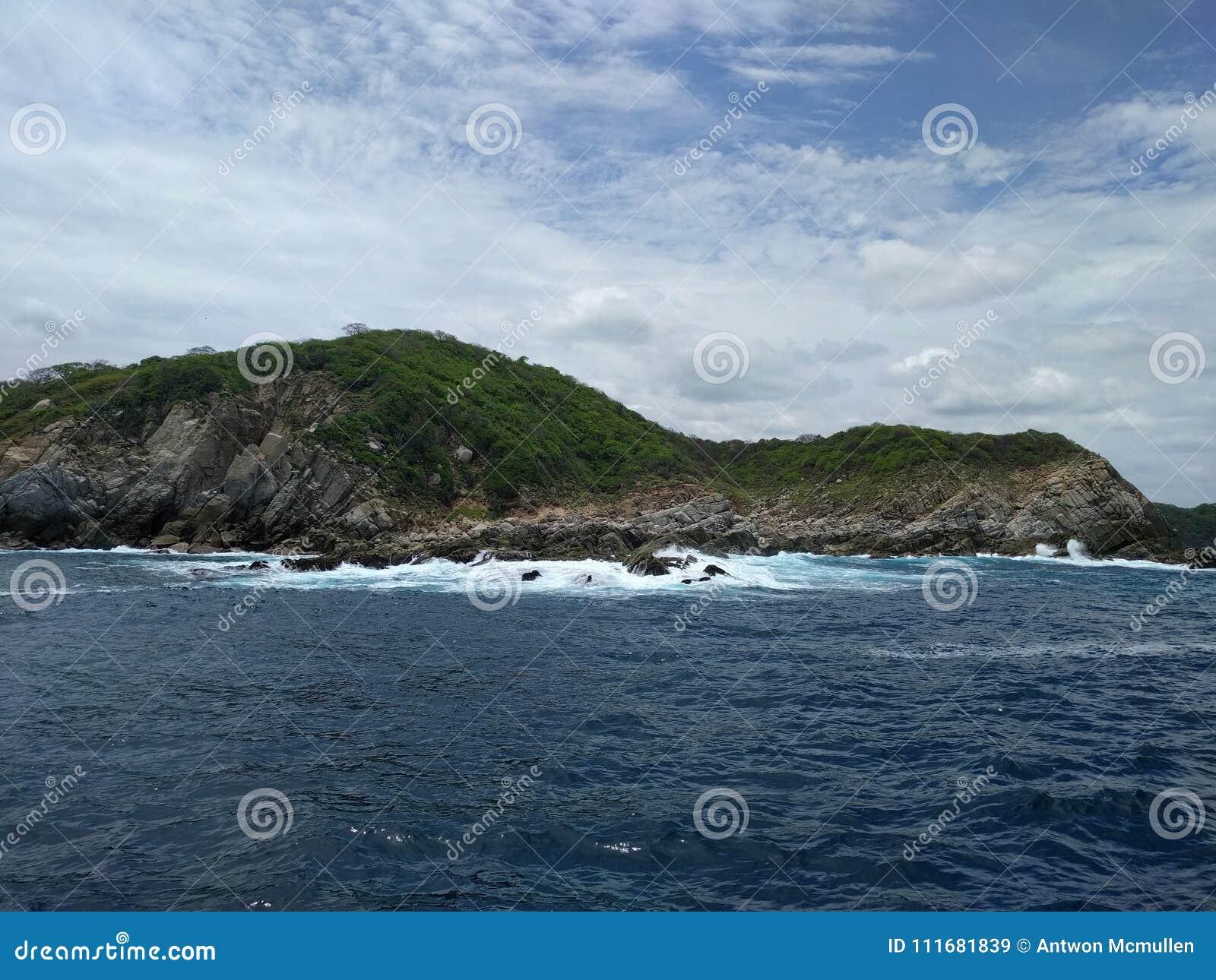 Huatulco Nationaal Park en de Vreedzame Oceaan