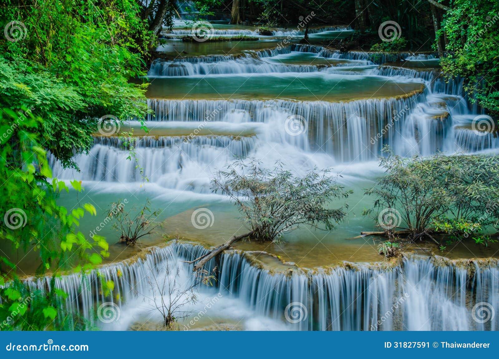 Huay Mae Khamin - cascade.