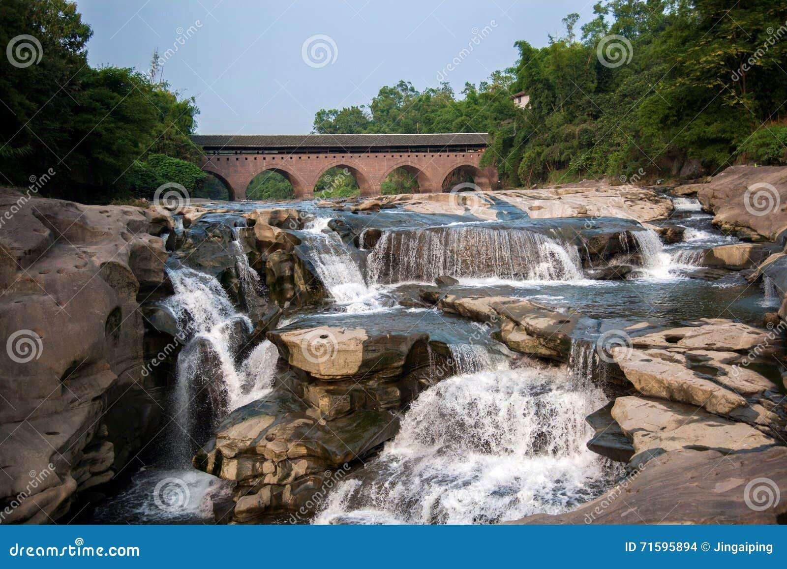 Huaying River ancient bridge bridges ---- Star (border bridge)