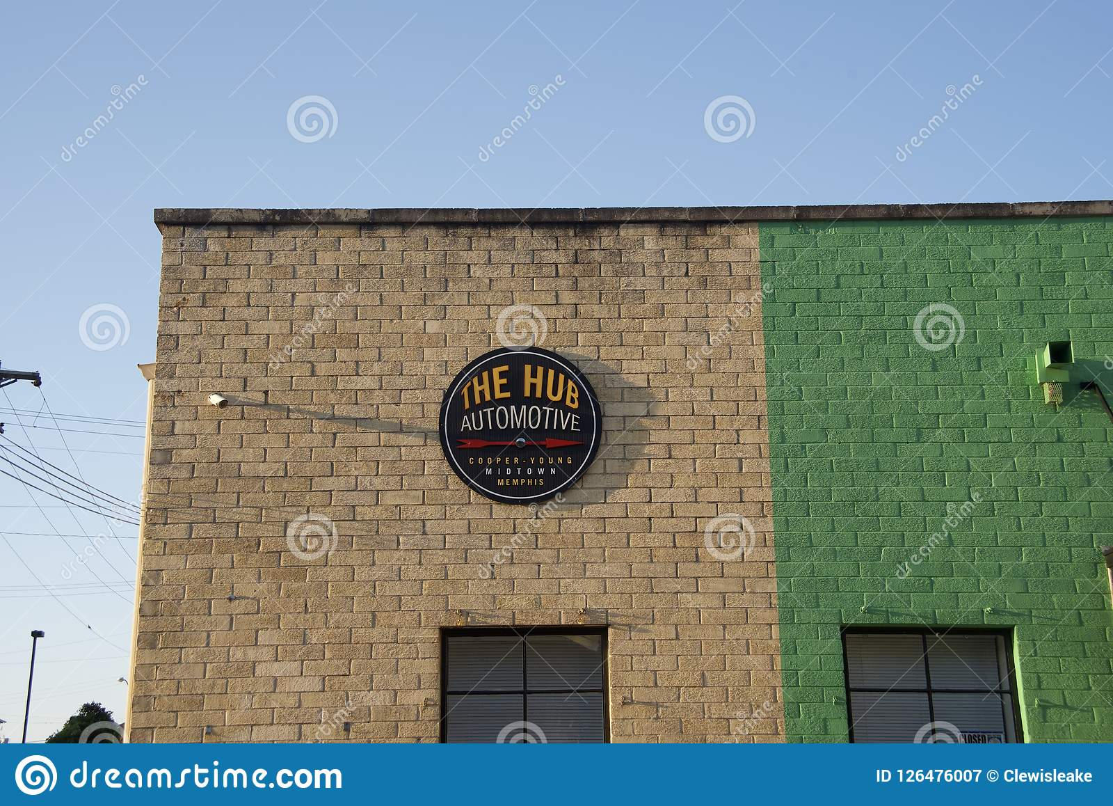 The Hub Automotive Memphis Tn Editorial Photography Image Of