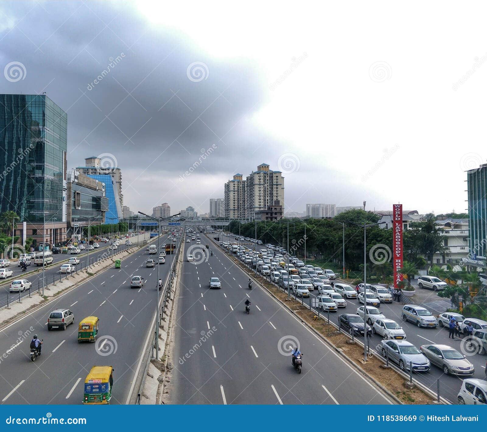 Hub corporativo, città cyber di DLF