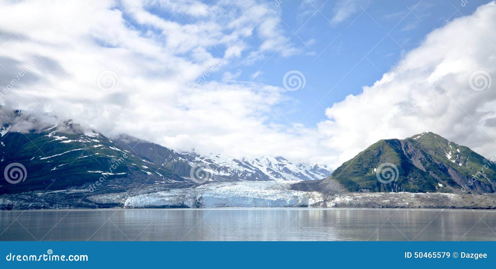Hubbard Glacier Alaska USA