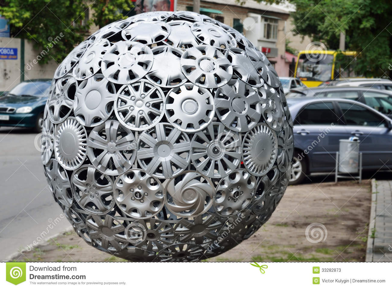 All Round Tire >> Hubcaps ball editorial stock photo. Image of automobile - 33282873