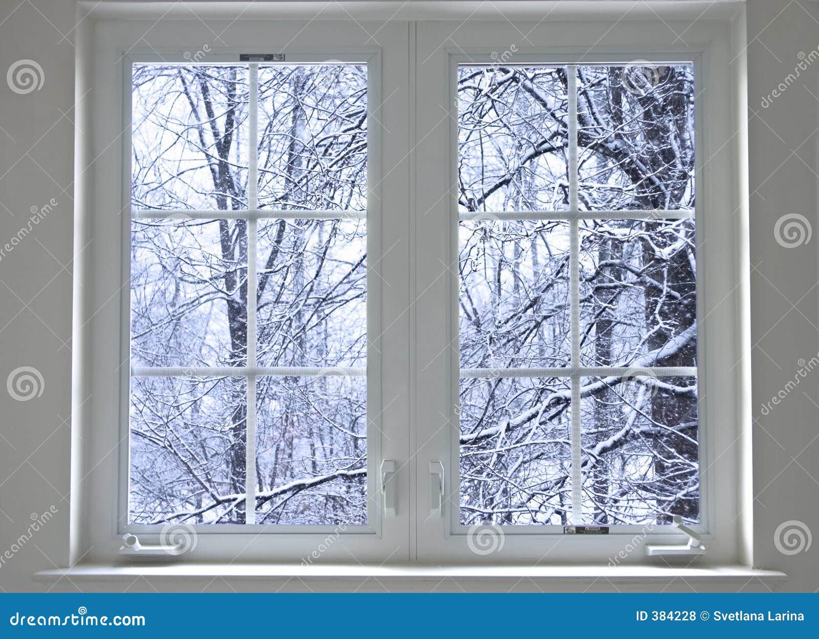 Hublot de l hiver
