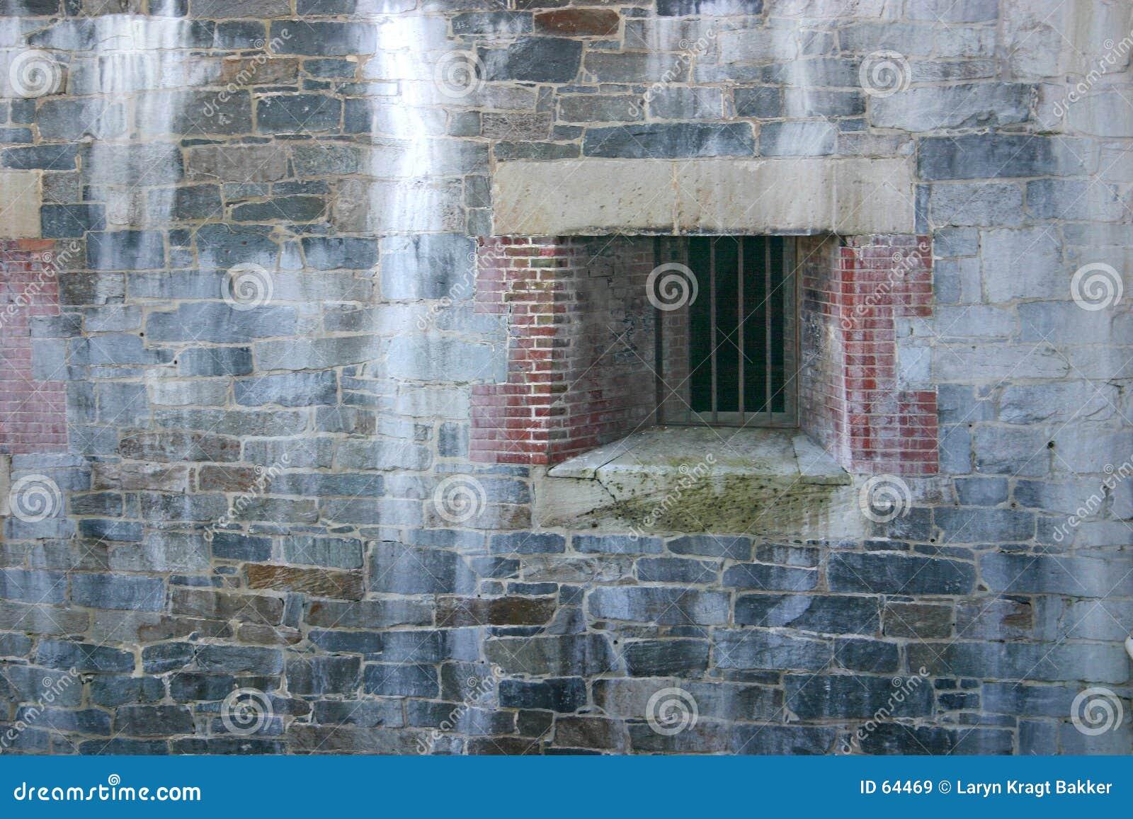 Download Hublot Superficiel Par Les Agents De Cellules Image stock - Image du incarcéré, brique: 64469