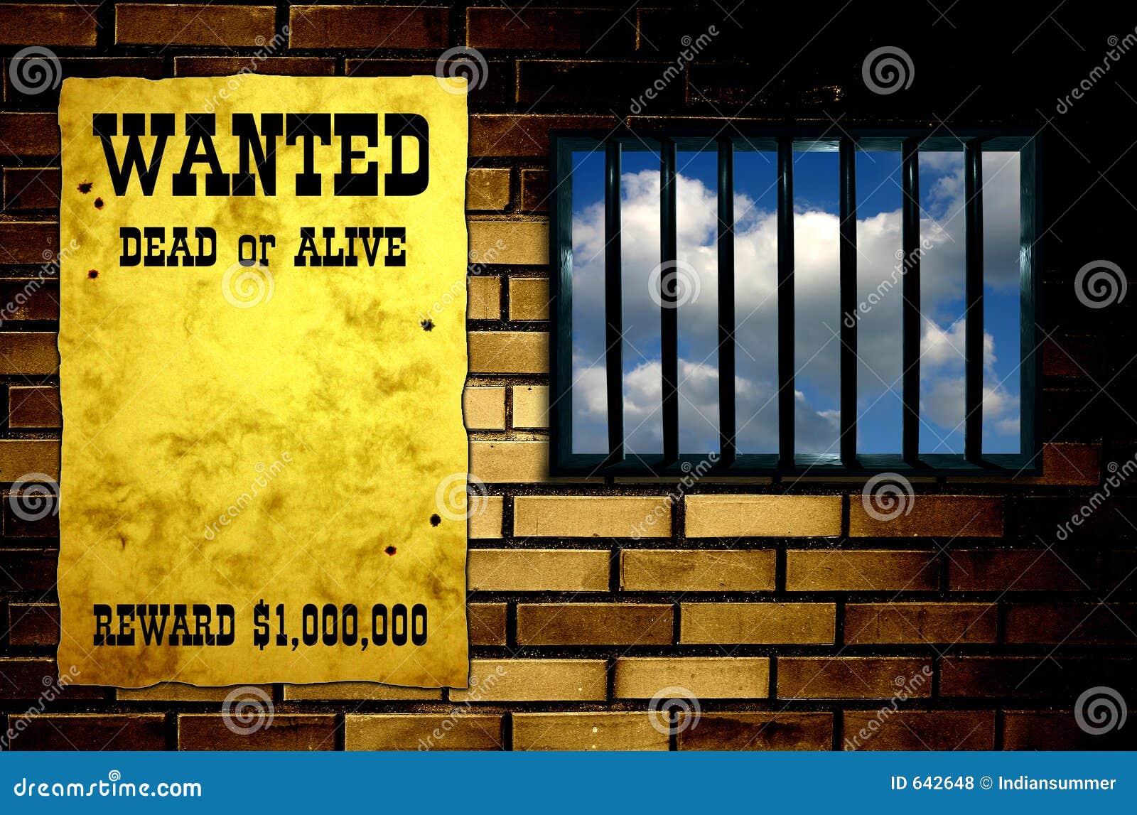 Hublot treillagé de prison