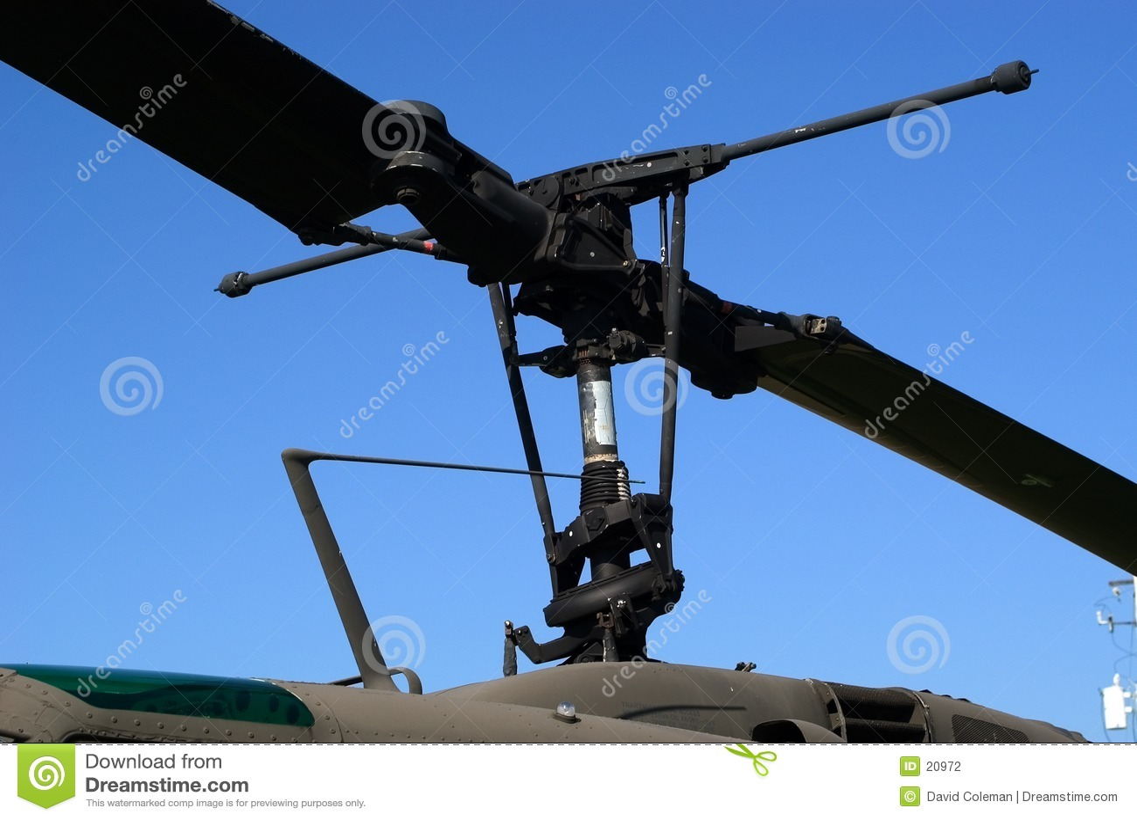 Hubschrauber-Blätter
