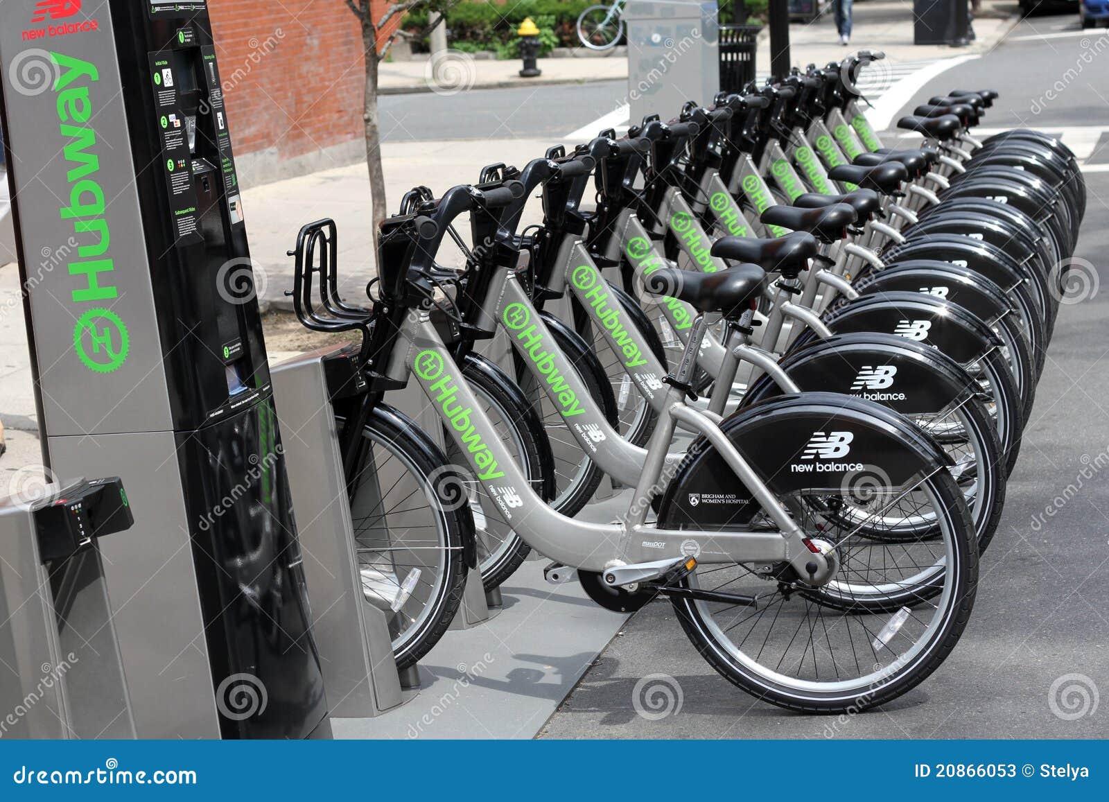bike share rental station editorial stock photo image of