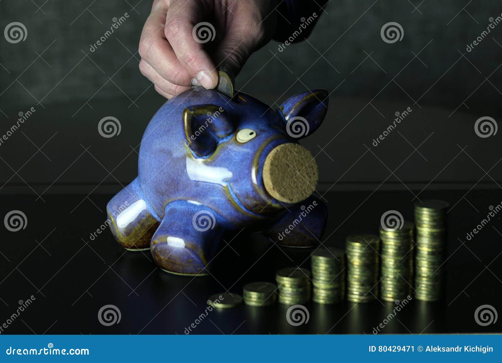 Hucha de la moneda