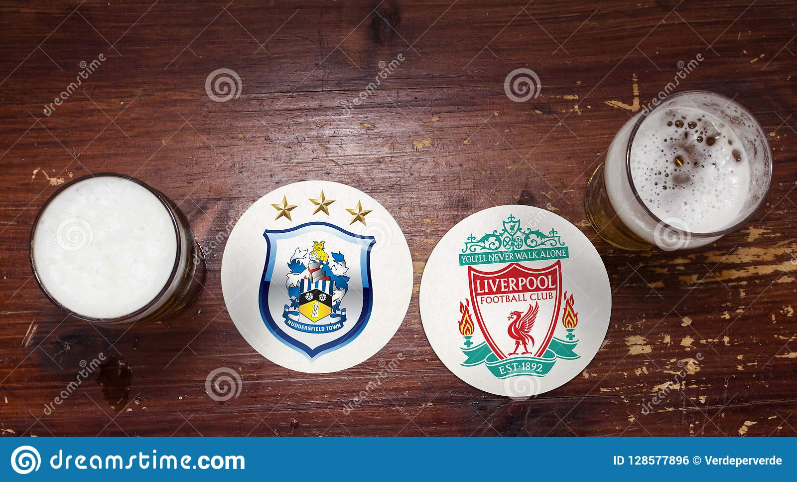 Huddersfield Town contre liverpool