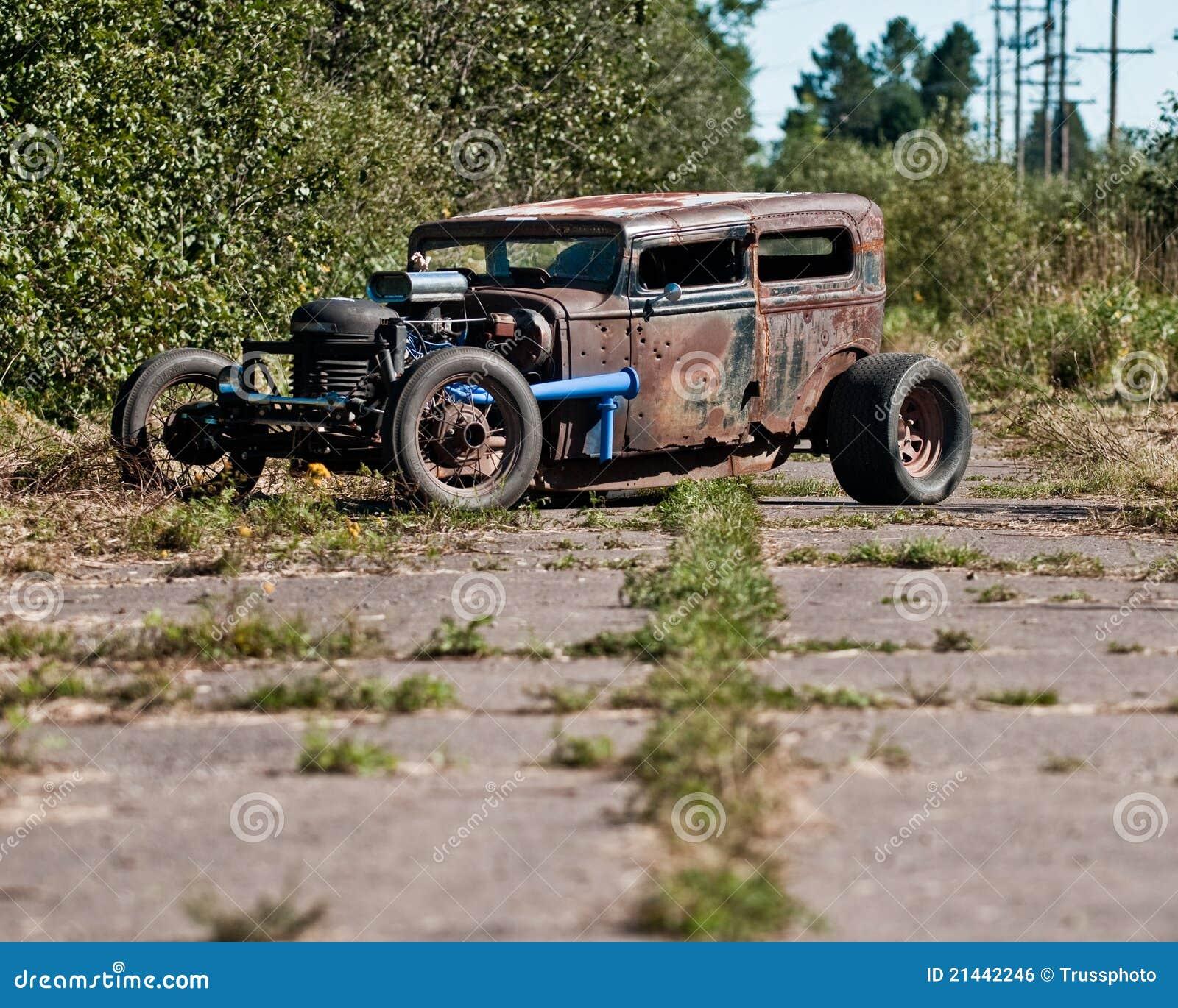 Hudson essex em uma estrada abandonada imagem de stock royalty free imagem 21442246 - Faience imitatie leisteen ...