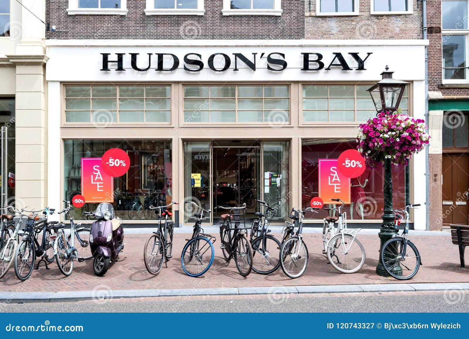 Hudson S Bay.Hudson S Bay Store In Leiden Netherlands Editorial