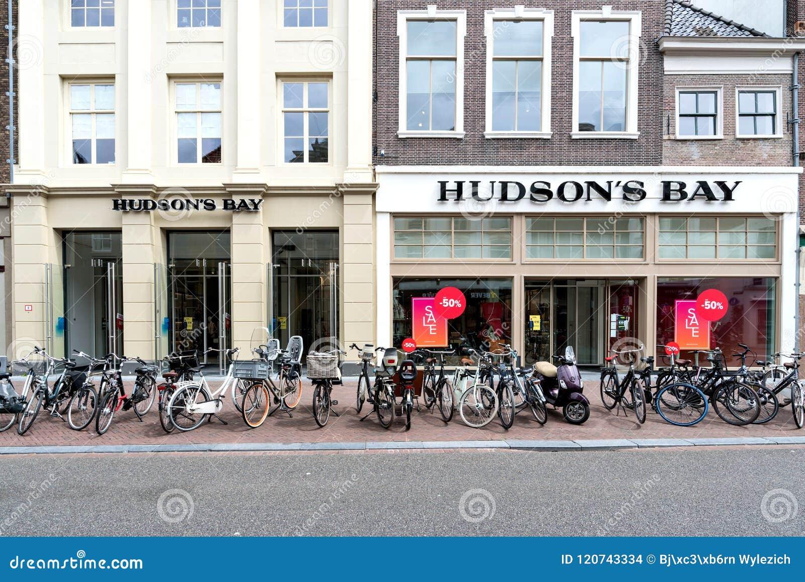 Hudson S Bay.Hudson S Bay Store In Leiden Netherlands Editorial Stock