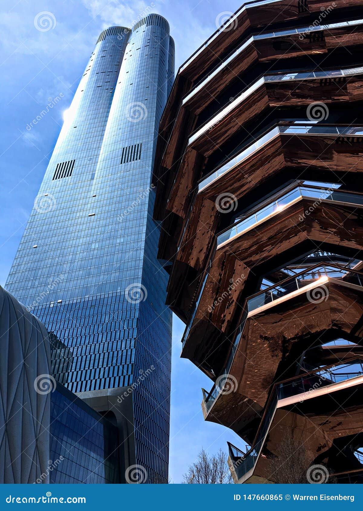 Hudson Yards in de Stad van New York