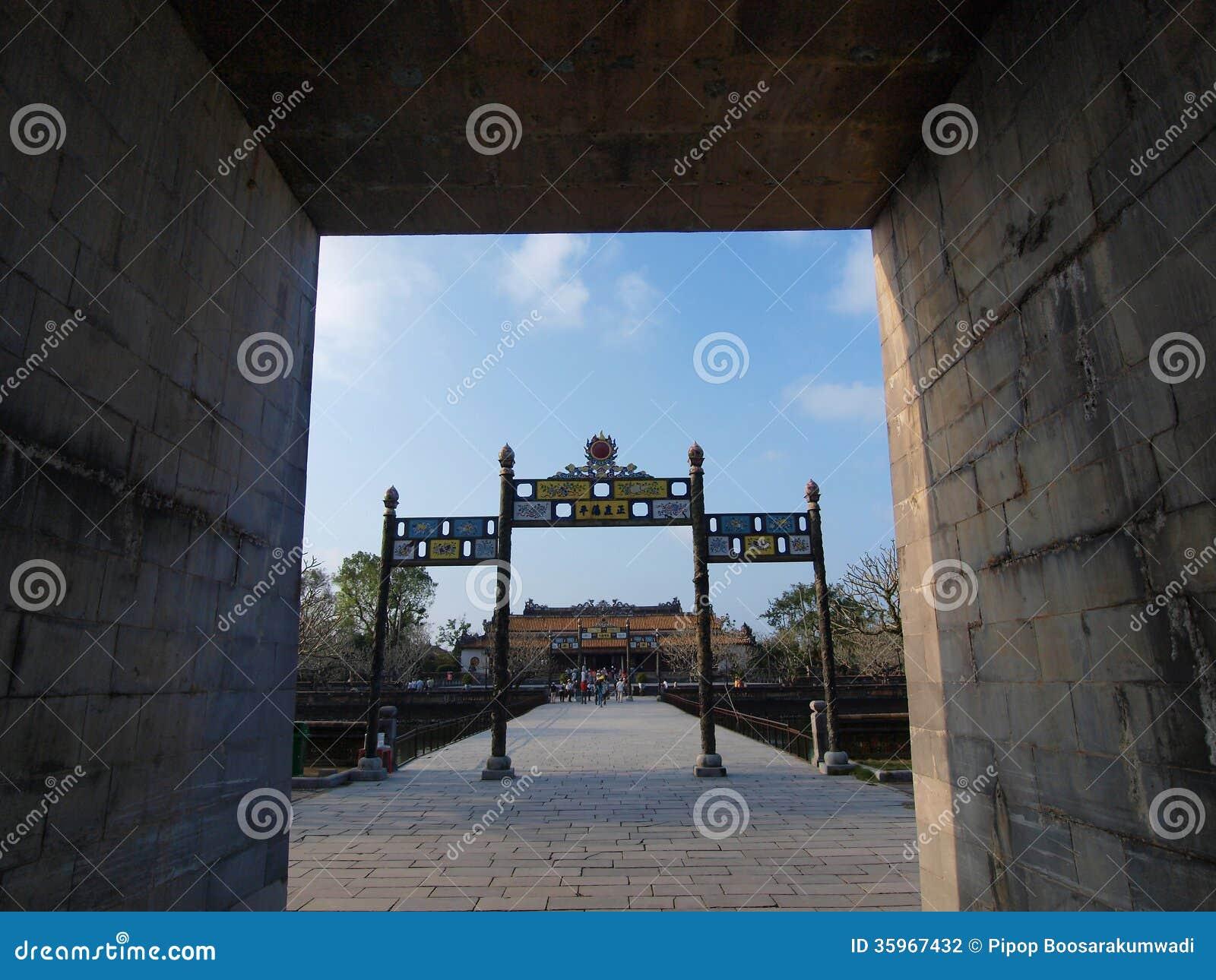 Hue Imperial City (la ciudadela), tonalidad, Vietnam. Mundo Heri de la UNESCO