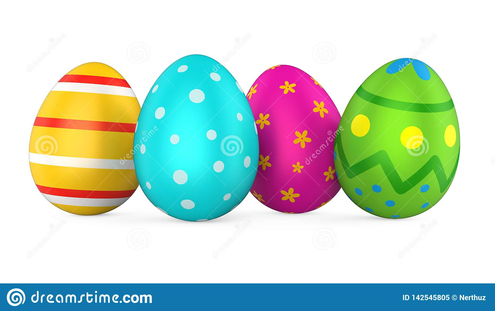 Huevo de Pascua aislado