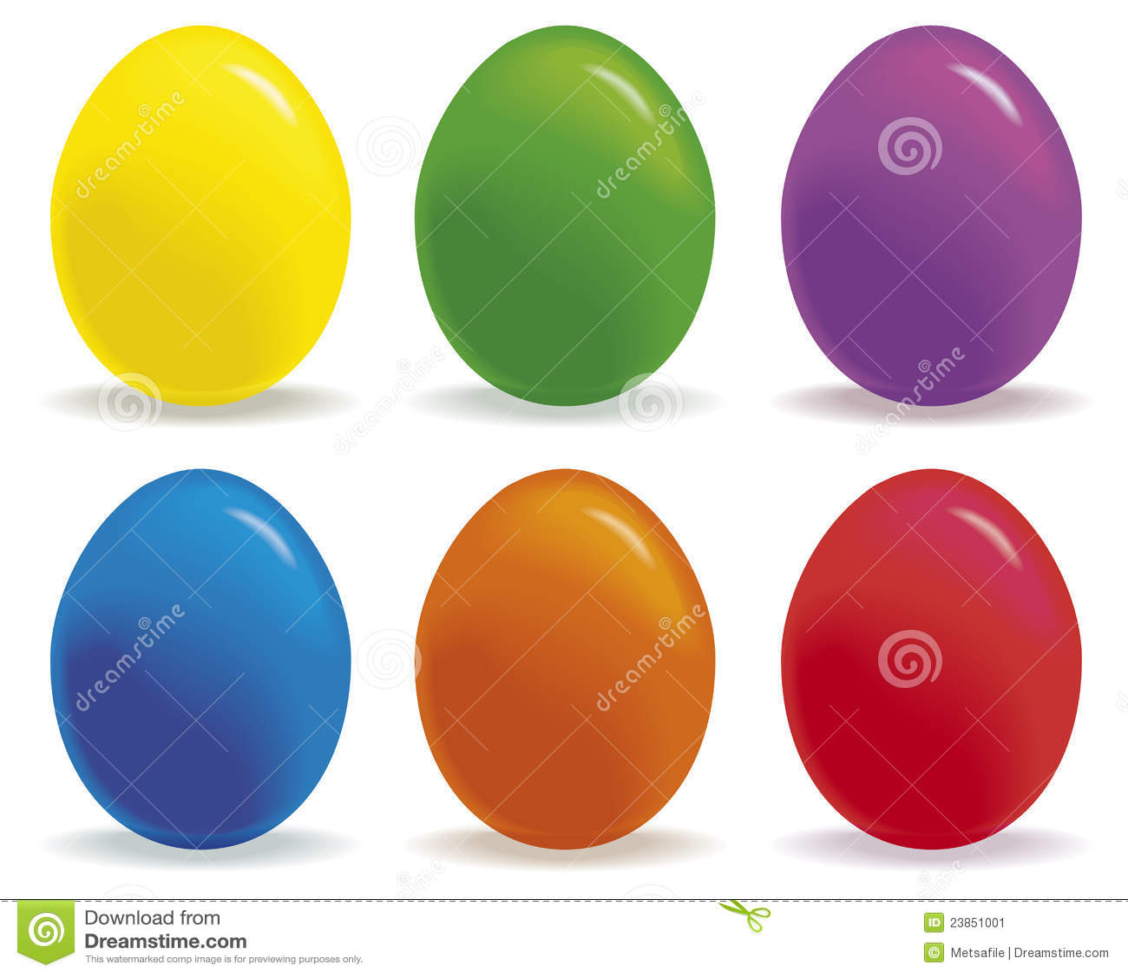 Huevos coloreados