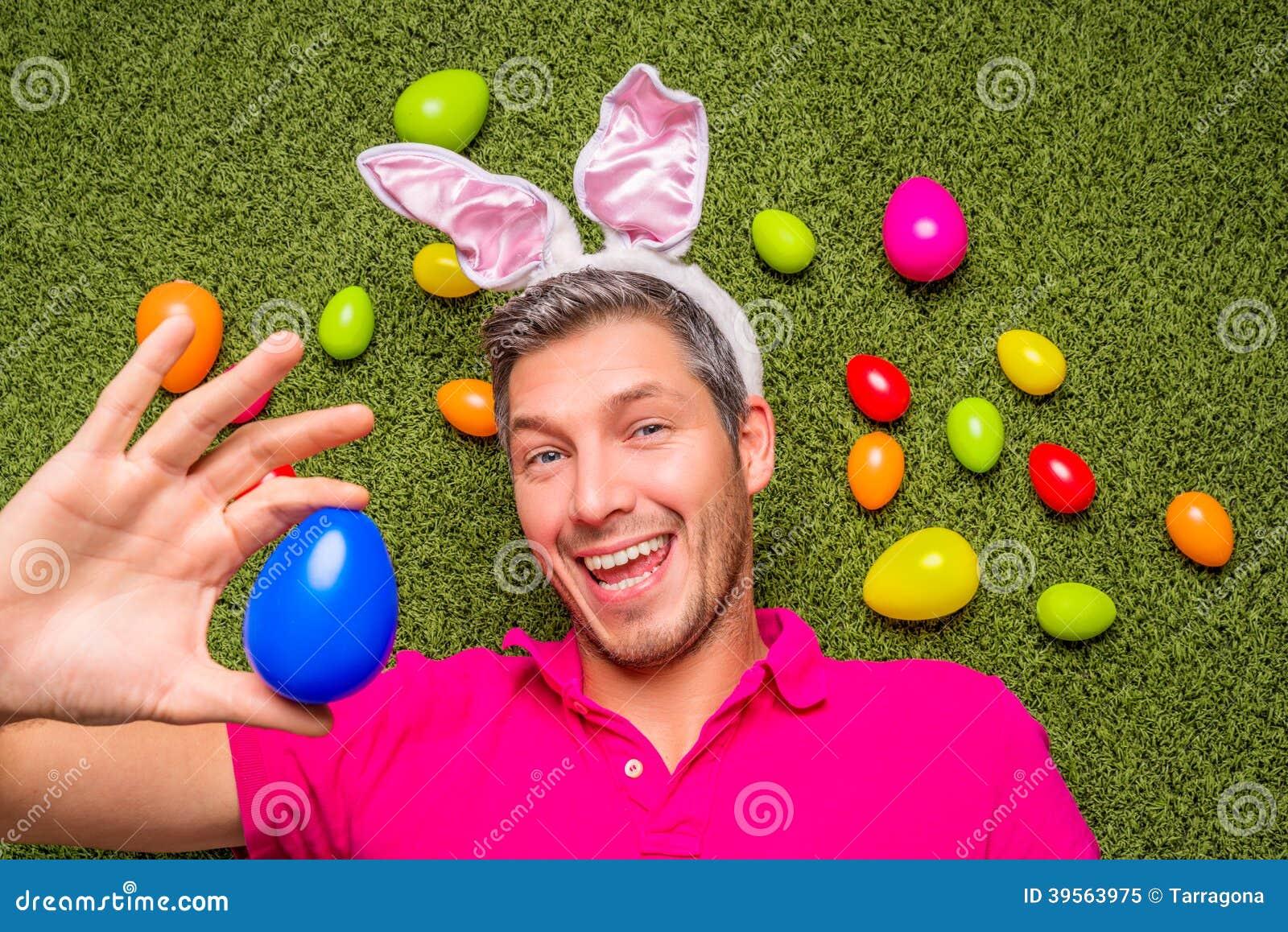 Huevos de jardín masculinos