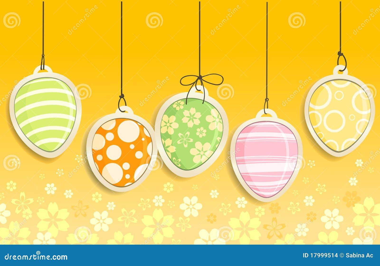 Huevos de Pascua decorativos