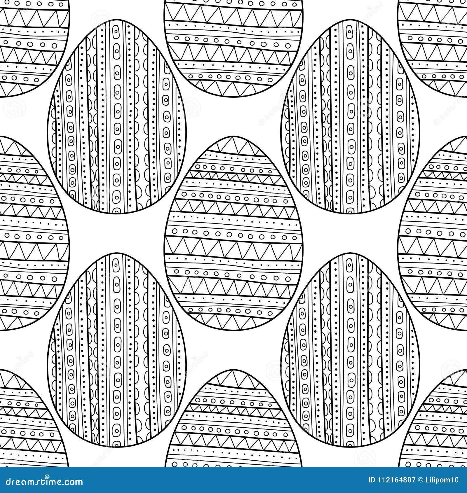 Único Páginas De Huevos De Pascua Composición - Dibujos Para ...