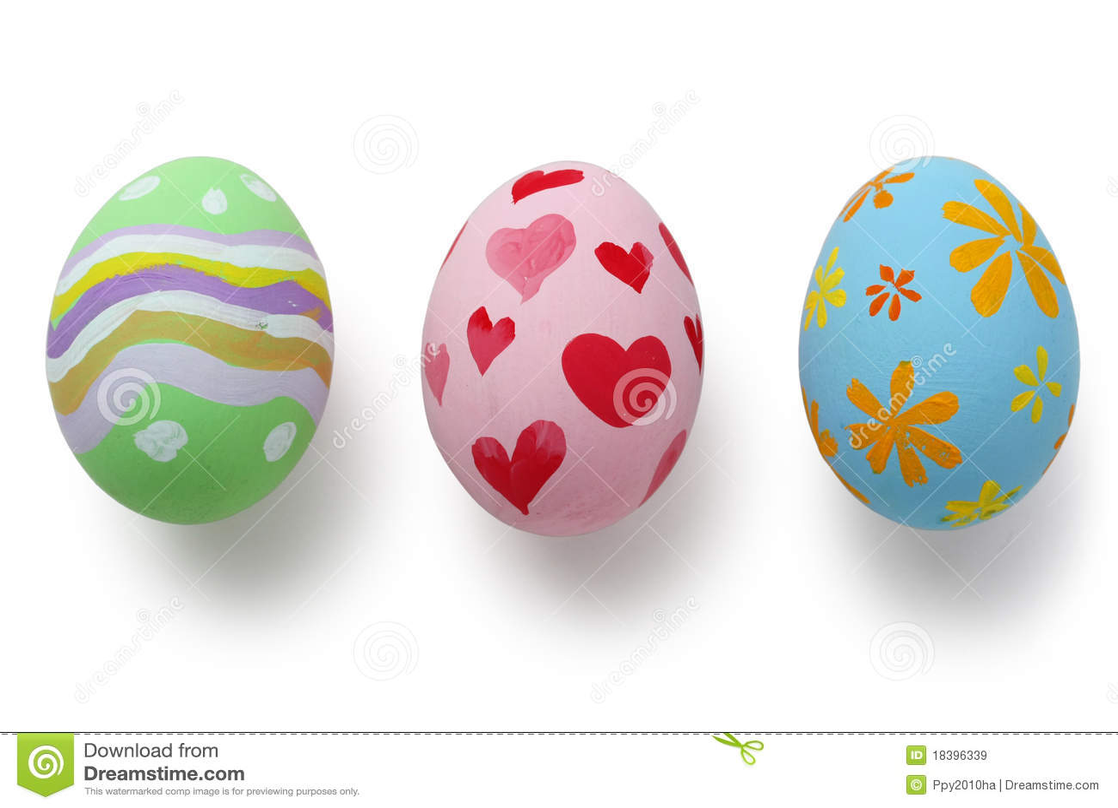 Huevos de pascua pintados a mano imagen de archivo - Videos de huevos de pascua ...