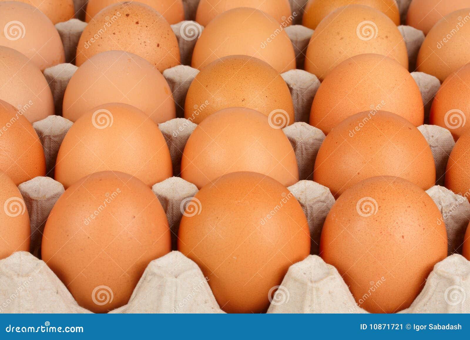 Huevos en el cedazo
