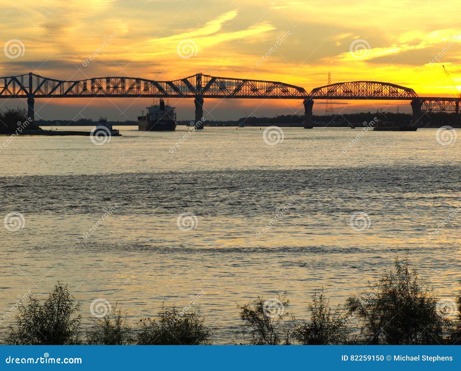 Huey Tęsk most--Nowy Orlean