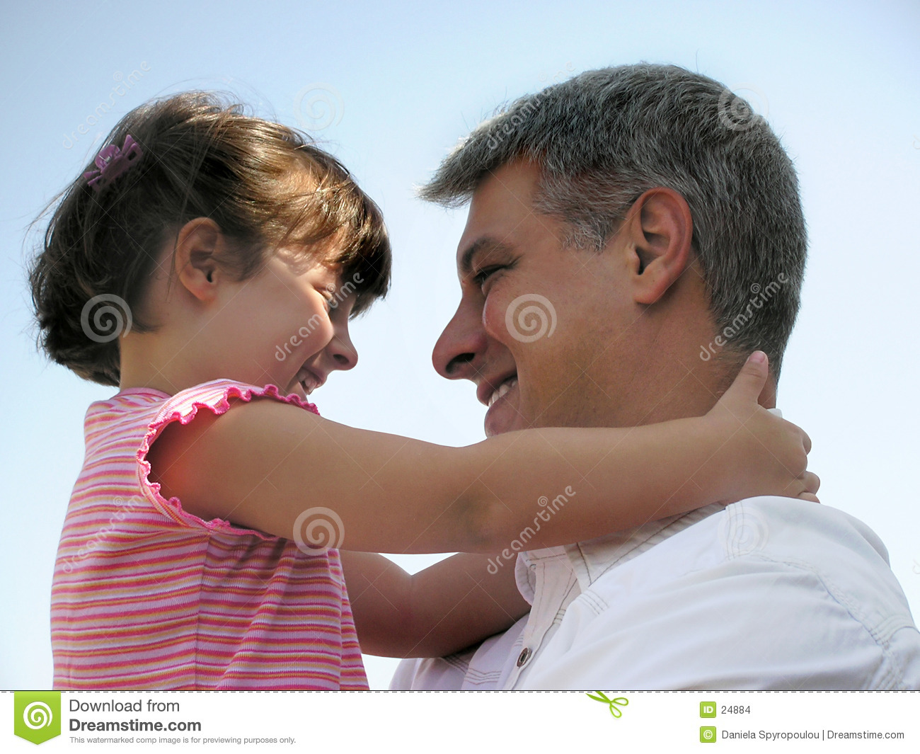 Download Hug grande foto de stock. Imagem de emocional, fatherhood - 24884