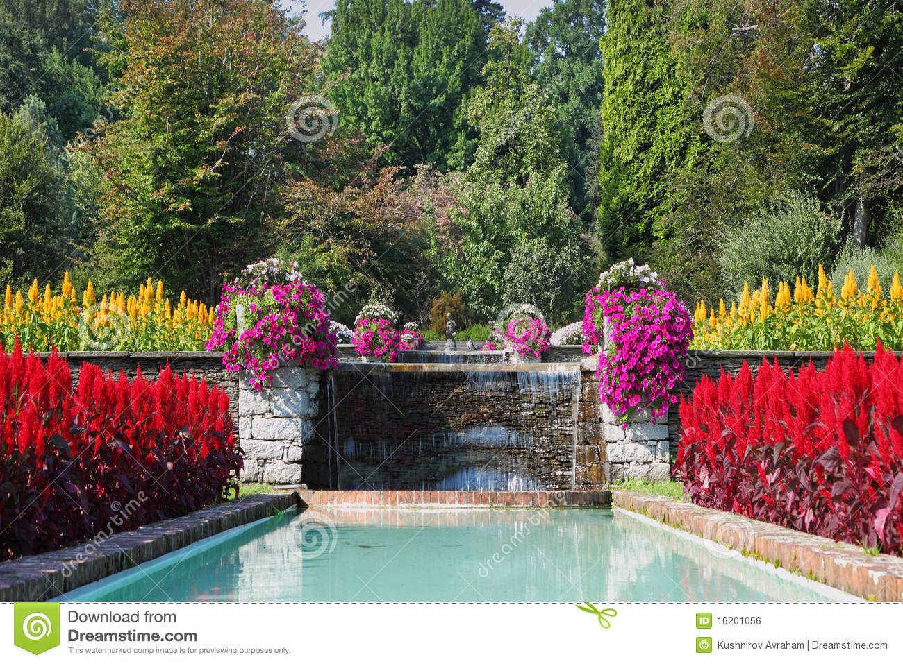 Huge Beautiful Garden Royalty Free Stock Image Image 16201056