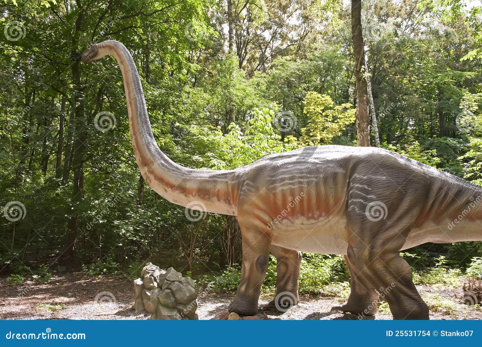 Huge dinosaur