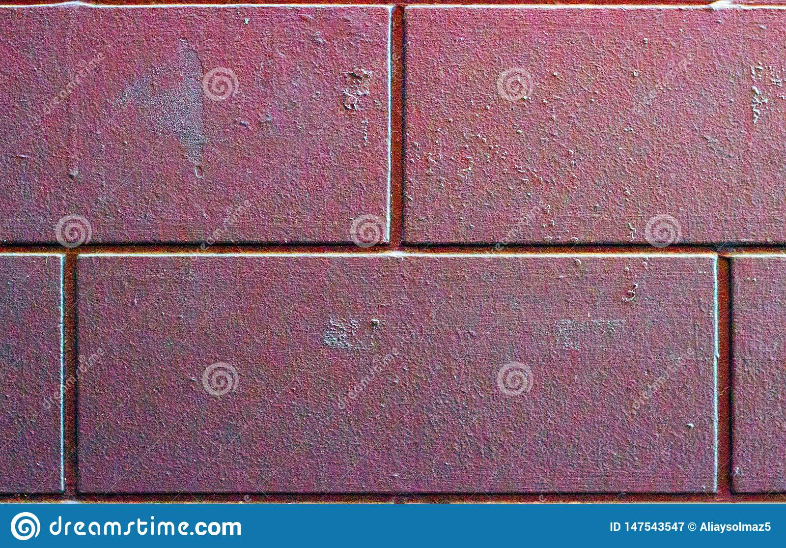 Huge and Dirty Bricks, Wall Pattern or Texture. Brick Background